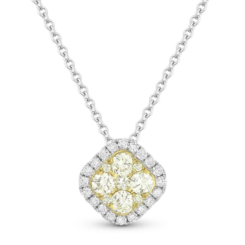 Yellow diamond pendant necklace diamond stars ny yellow diamond pendant necklace mozeypictures Choice Image