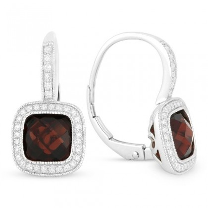 Garnet Earrings DE10562