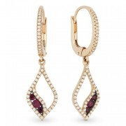 Ruby Earrings DE10944