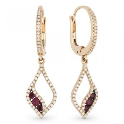 Ruby Earrings DE10944