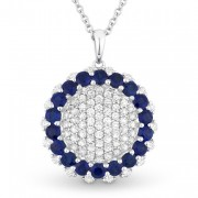 Sapphire Pendant DN3809