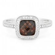 Garnet ring DR12017