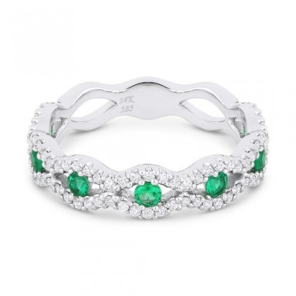 Emerald Ring 12706