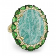 amazonite ring DR12909
