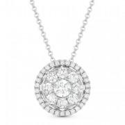 DN4666 diamond pave pendant