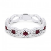 DR12704 ruby diamond ring