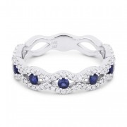 DR12705 sapphire ring