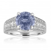 sapphire wide band ring