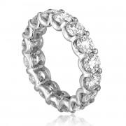 eternity diamond band